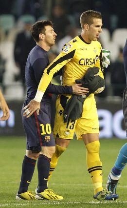 """""""No me fastidió que Messi consiguiera el récord conmigo"""""""
