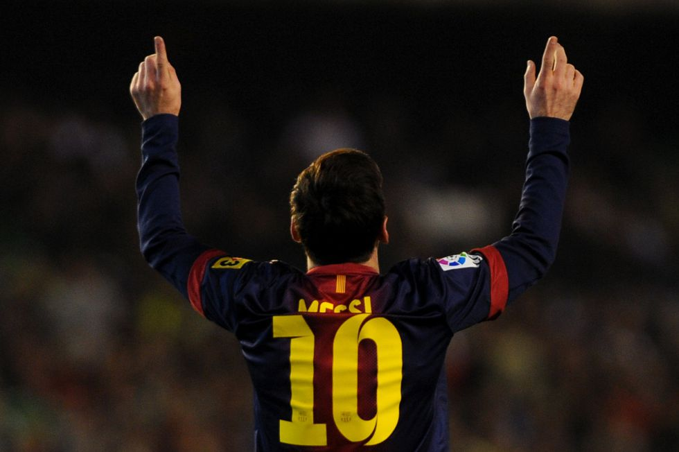 Messi: 0,6 goles por partido en Copa por el 0,84 de la Liga