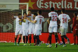 El Sevilla cura sus heridas metiendo cinco al Mallorca