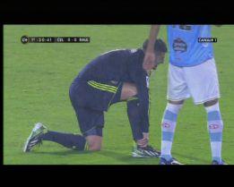 Benzema sufre un esguince en su tobillo derecho
