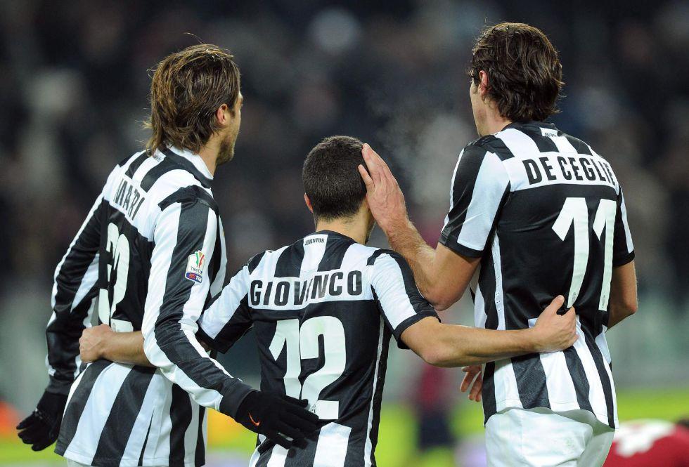 Juventus y Catania alcanzan los cuartos de final de la Copa