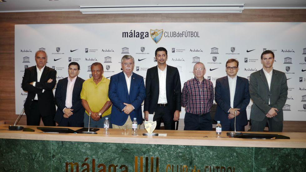 Villar respalda al Málaga, que se reúne hoy con la UEFA