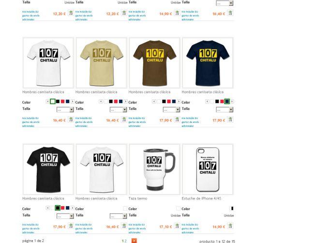 Internet crea una línea de Merchandising de Chitalu