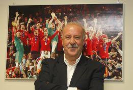 """Del Bosque: """"No sé qué le pasa a Villa, no tengo ni idea"""""""