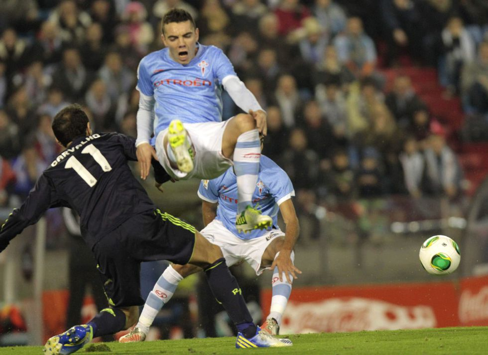 """Carvalho: """"En la primera mitad el Celta tuvo más actitud"""""""