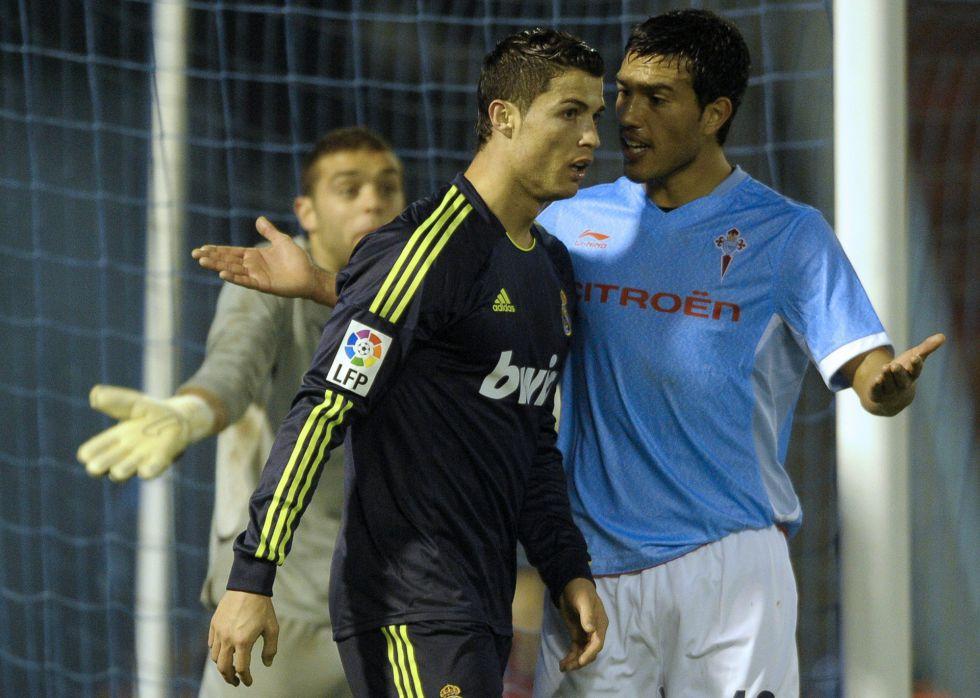 Cristiano Ronaldo alivió el baño