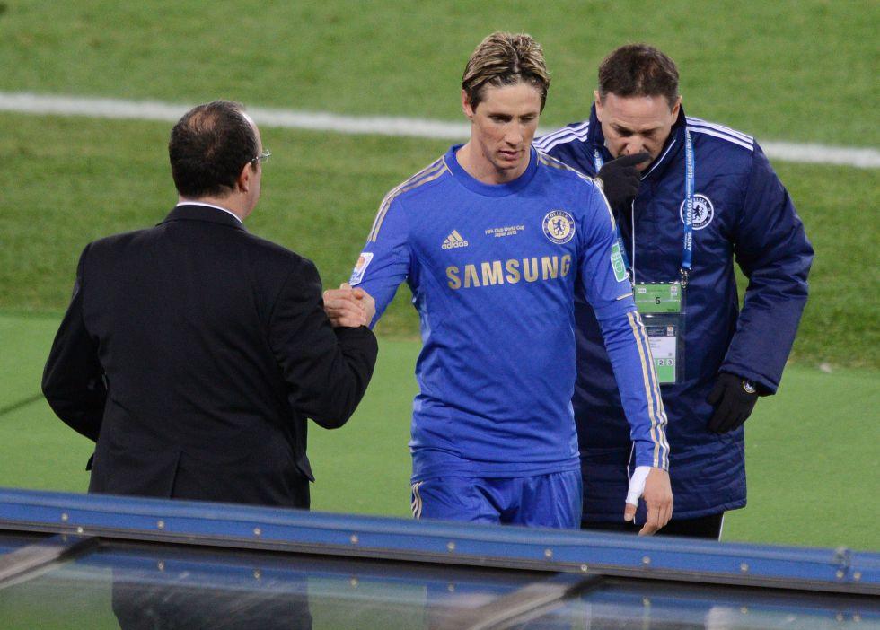 """Torres: """"El equipo ha mejorado y lleva el sello de Rafa Benítez"""""""