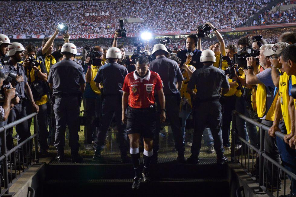 Tigre denunció agresiones y se retiró de la final en el descanso