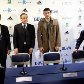 """Florentino Pérez: """"Casillas is a Real Madrid and Spain legend"""""""