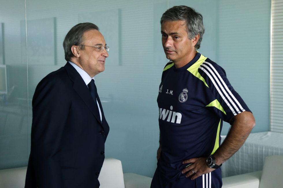 Florentino Pérez da la cara y saldrá en defensa de Mourinho