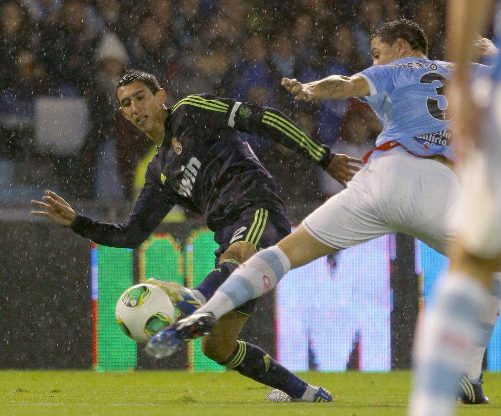 Mourinho busca las razones del bajón de juego de Di María
