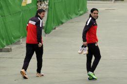 Falcao y Adrián apuran para poder estar en el Camp Nou