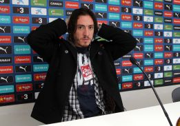 Cristian Álvarez sabrá mañana si puede jugar en el Bernabéu