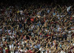 Declarado de alto riesgo el Sevilla-Málaga de este sábado