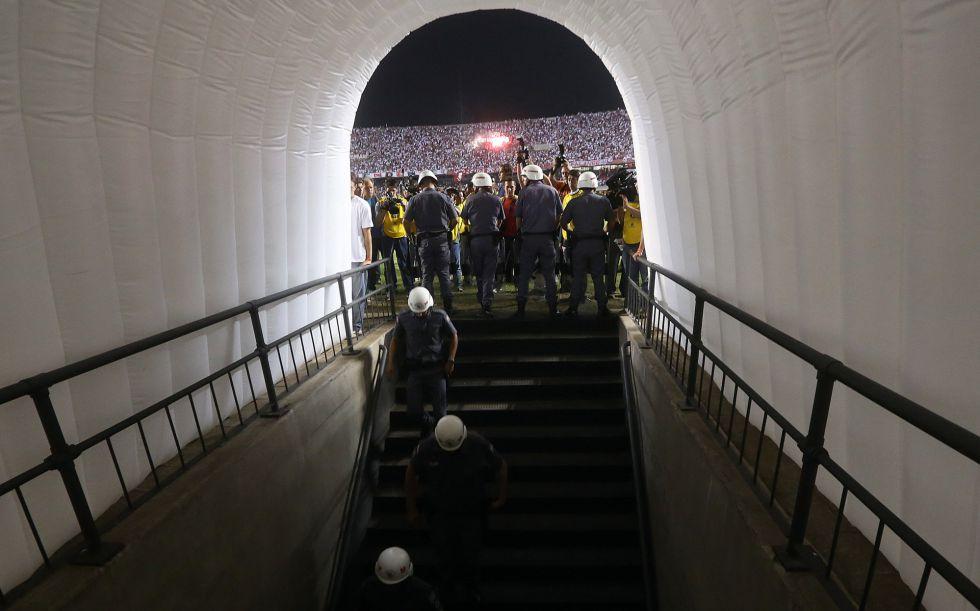 Acusan al gerente del Sao Paulo de agredir a jugadores de Tigre