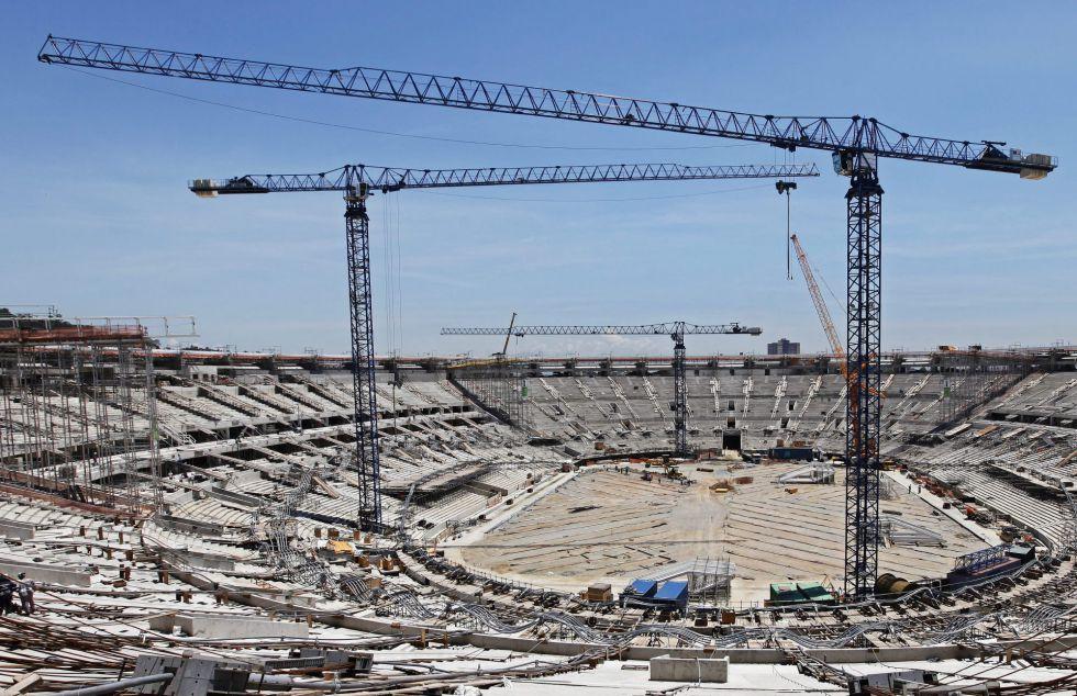 Cuatro estadios aún por hacer a seis meses de la Confecup