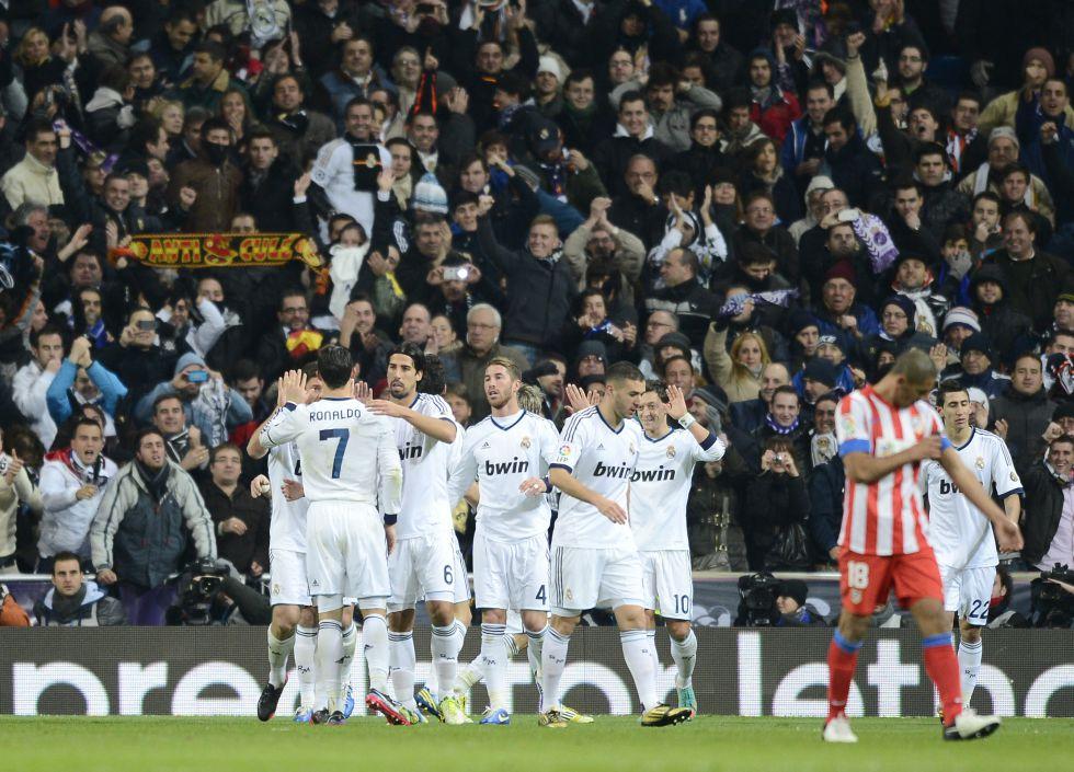 El Madrid ya lleva un año sin perder en su feudo en Liga
