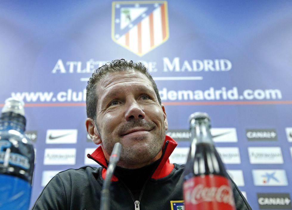 """Simeone: """"En Barcelona espero la mejor versión de Falcao"""""""