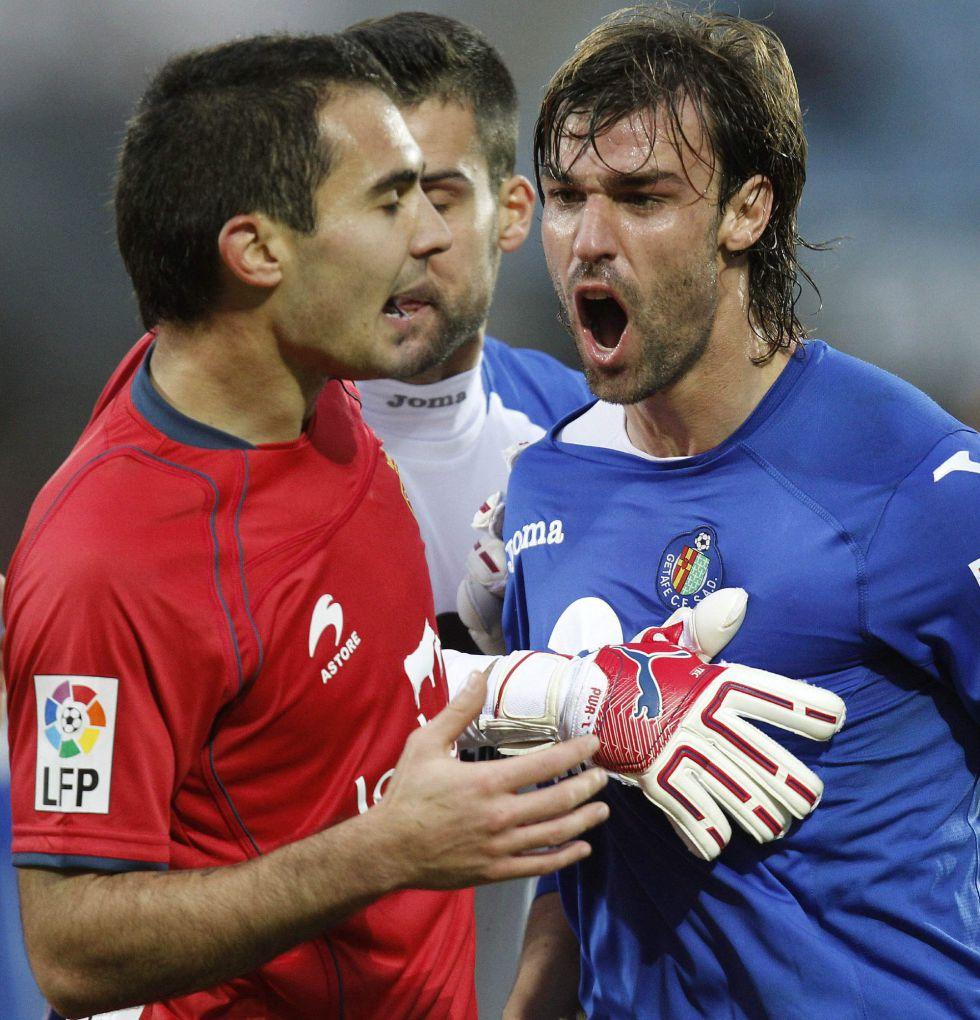 Un polémico penalti impide ganar a Osasuna en Getafe