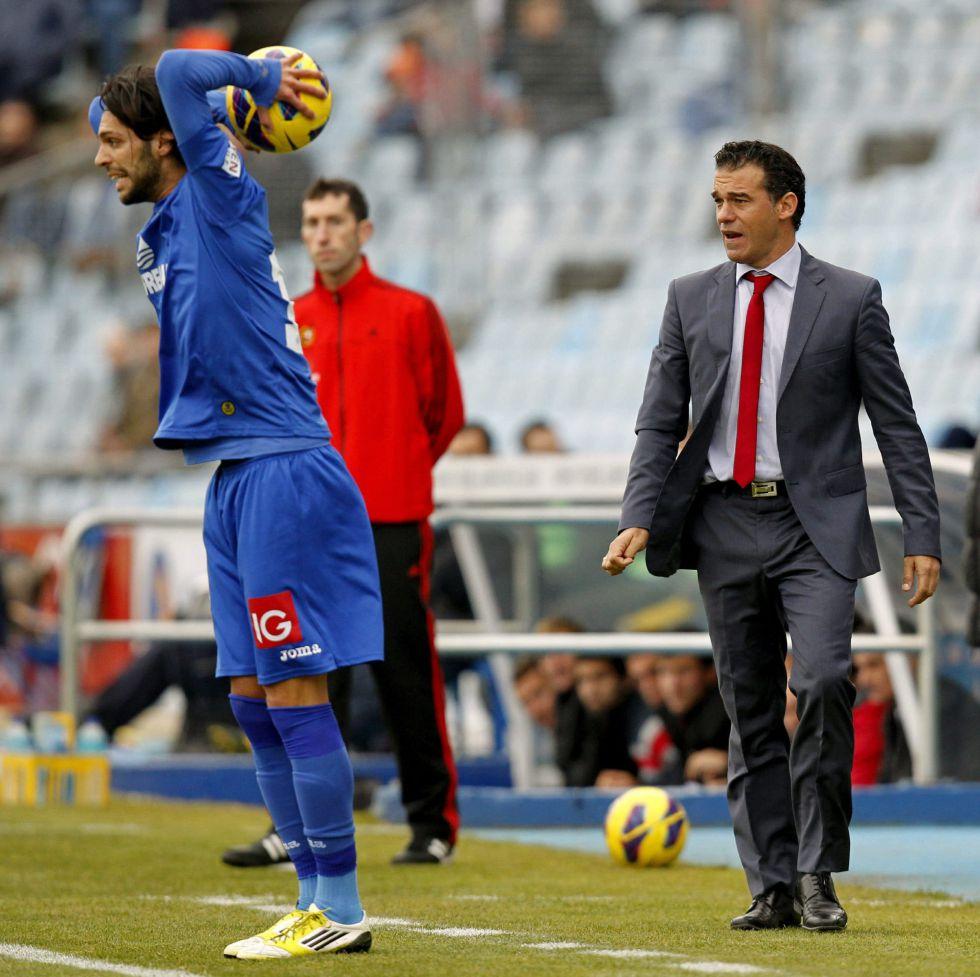 """Luis García: """"Si lo han pitado, es penalti, no enjuicio a árbitros"""""""