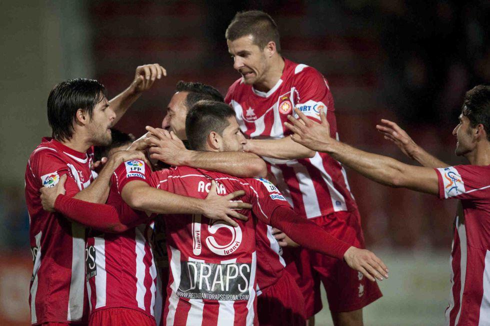 El Girona duerme segundo y deja al Villarreal a seis puntos