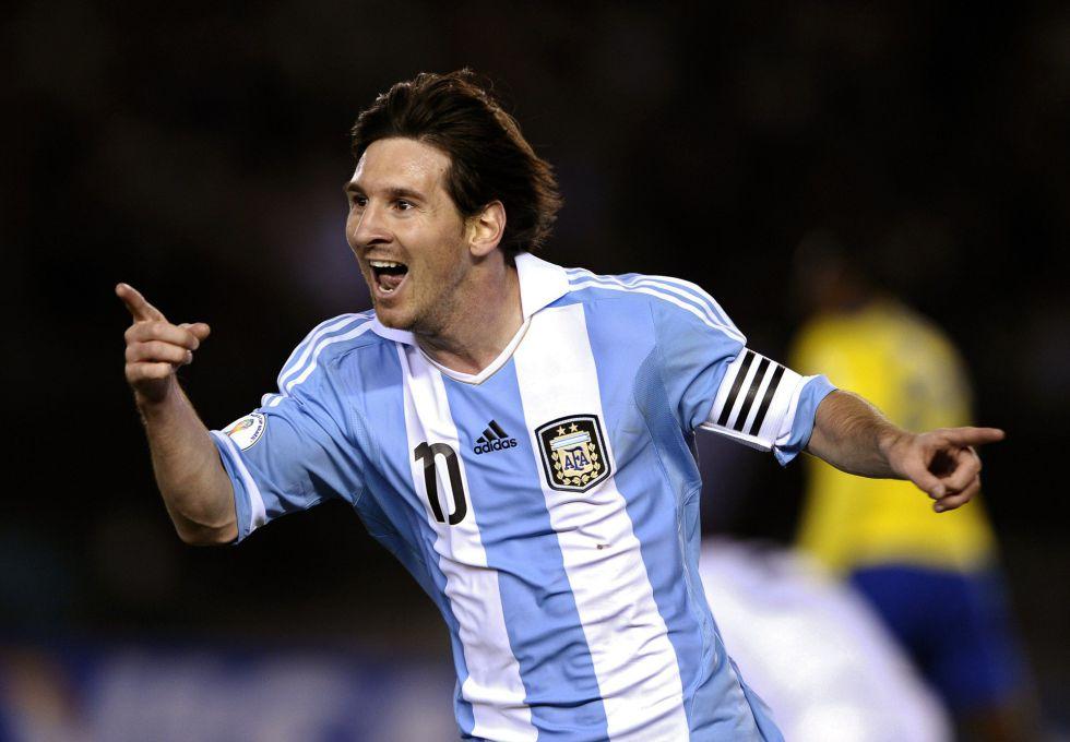 """""""El ejemplo a seguir es Messi"""""""