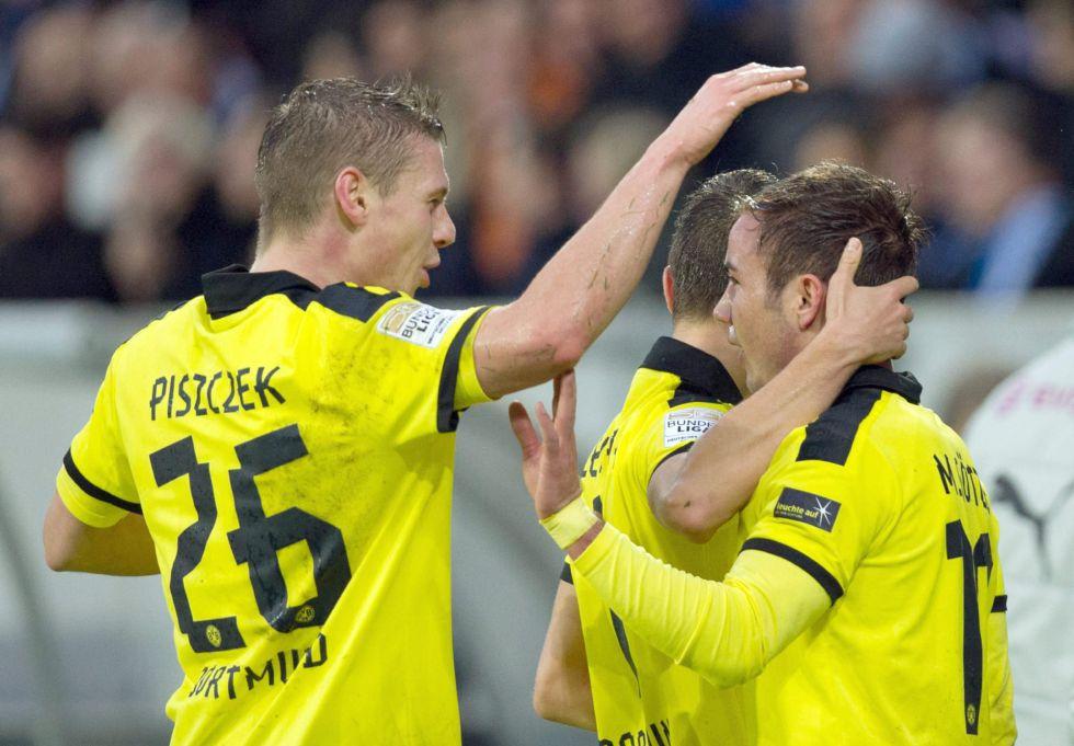 El Borussia Dortmund gana al Hoffenheim y ya es tercero