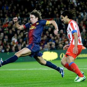 """Puyol: """"If there's a team that doesn't throw in the towel it's Madrid"""""""
