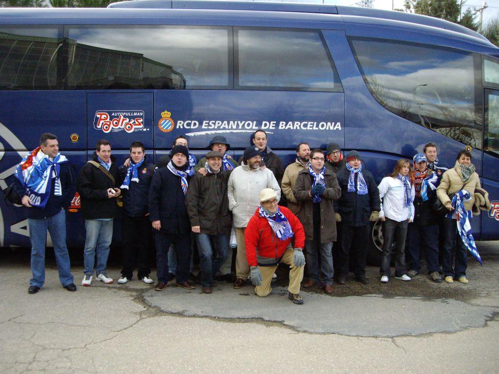 El gran día de la Peña Espanyolista de Madrid