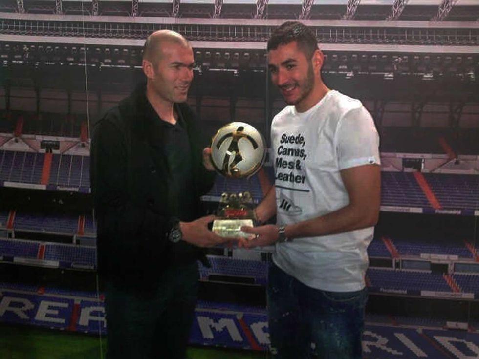 Benzema, elegido jugador francés del año por segunda vez