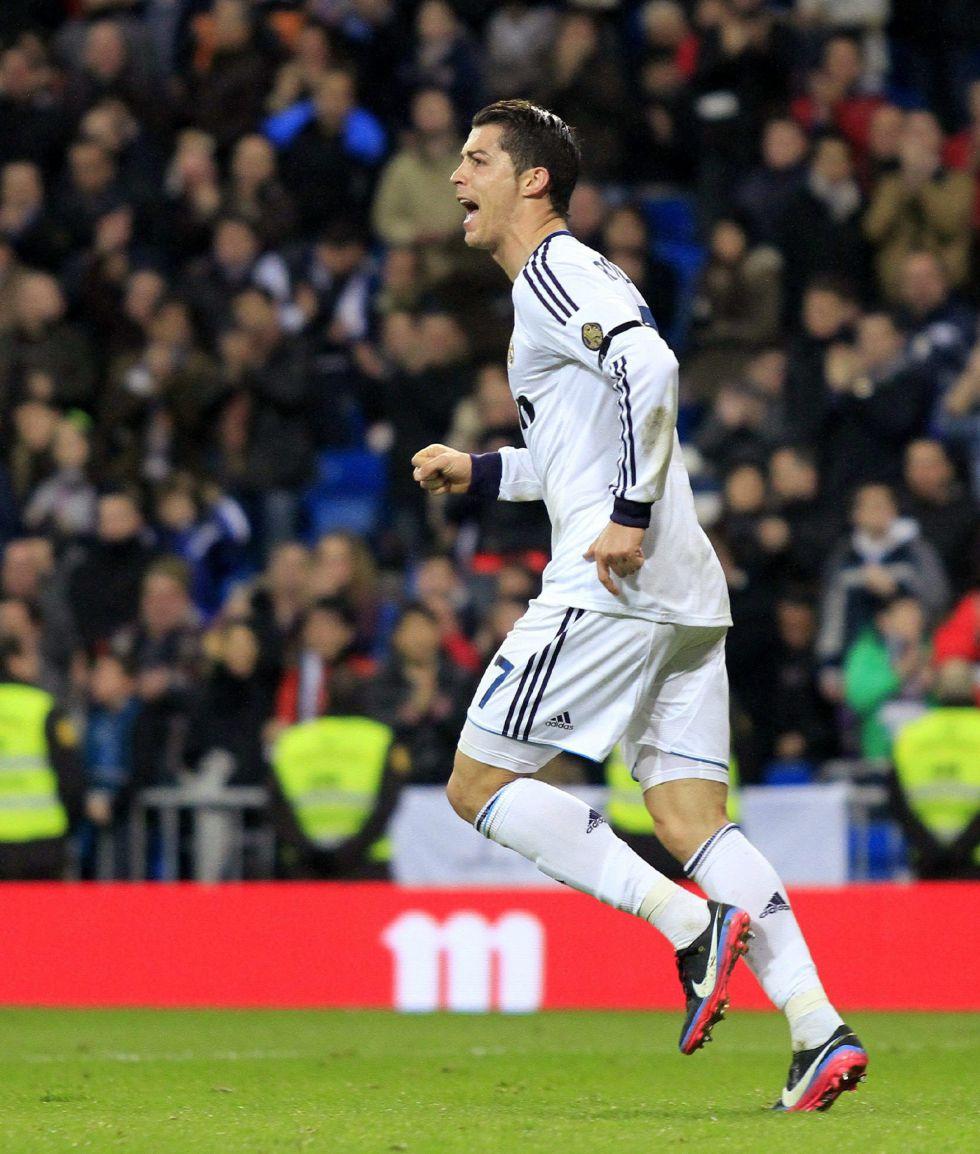 Cristiano iguala a Gento en la sexta posición de goleadores