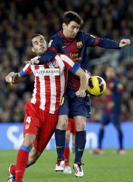 """Mario Suárez: """"El Atlético es un grande y el Barça es el mejor"""""""