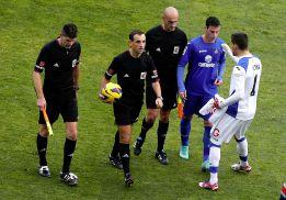 El asistente que señaló el penalti a Osasuna, a la 'nevera'