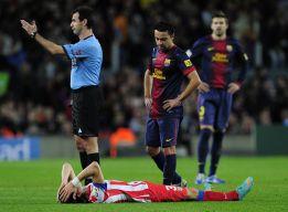 Filipe Luis sufre problemas musculares en el cuádriceps