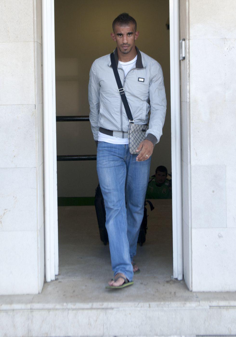 Bouazza denuncia a los tres aficionados que le persiguieron