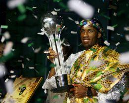 Didier Drogba, Touré Yaya y Alex Song, finalistas en África