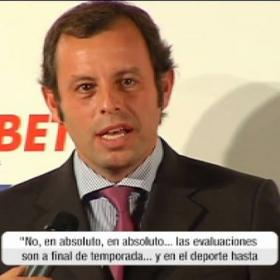 "Sandro Rosell: ""Everything is still to play for, we can't relax"""