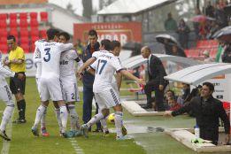 El Castilla se atascó desde el ataque de Mourinho a Toril