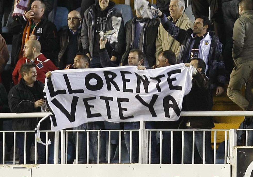 Manuel Llorente está meditando dejar la presidencia del club che