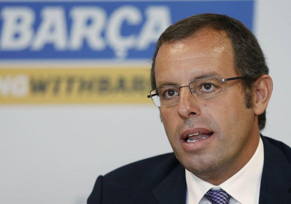 """Sandro Rosell: """"No nos podemos relajar, está todo abierto"""""""