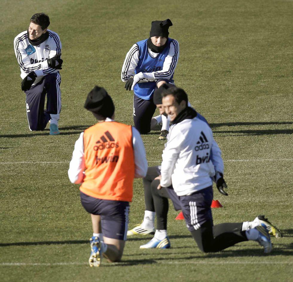 La niebla entristece al Real Madrid en su regreso al trabajo