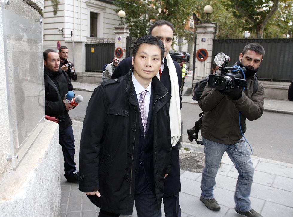 Gao Ping usó el palco VIP para contactar con gente del Madrid