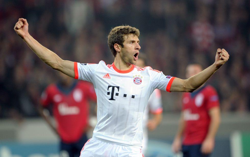 Thomas Müller renueva con el Bayern de Múnich hasta 2017