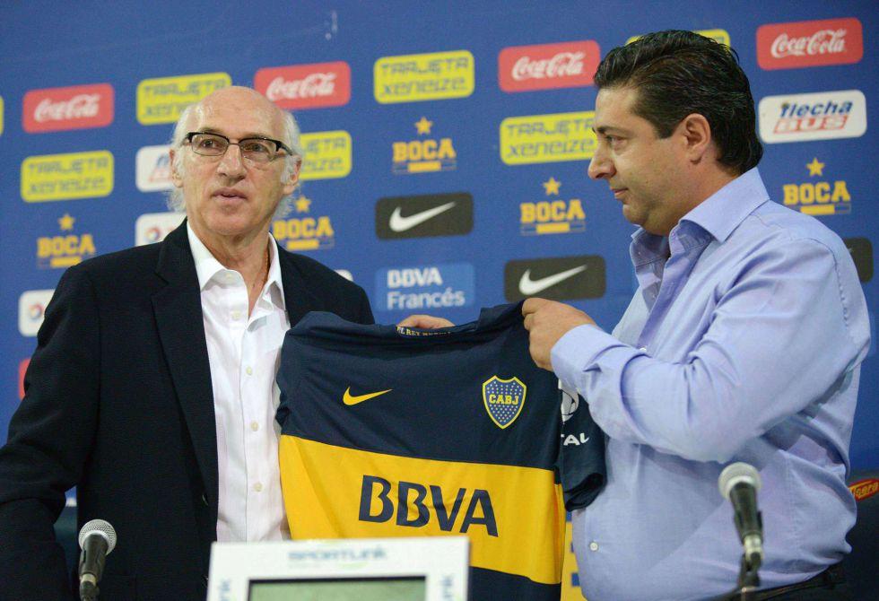 """Bianchi: """"Quiero que Boca esté entre los mejores de América"""""""