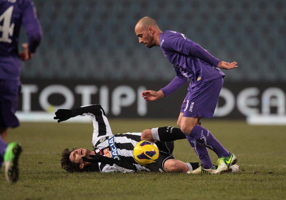 Carrizo y Borja Valero llevan a Lazio y Fiorentina a cuartos
