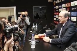 Llorente sigue en el cargo, pero no asegura que hasta junio