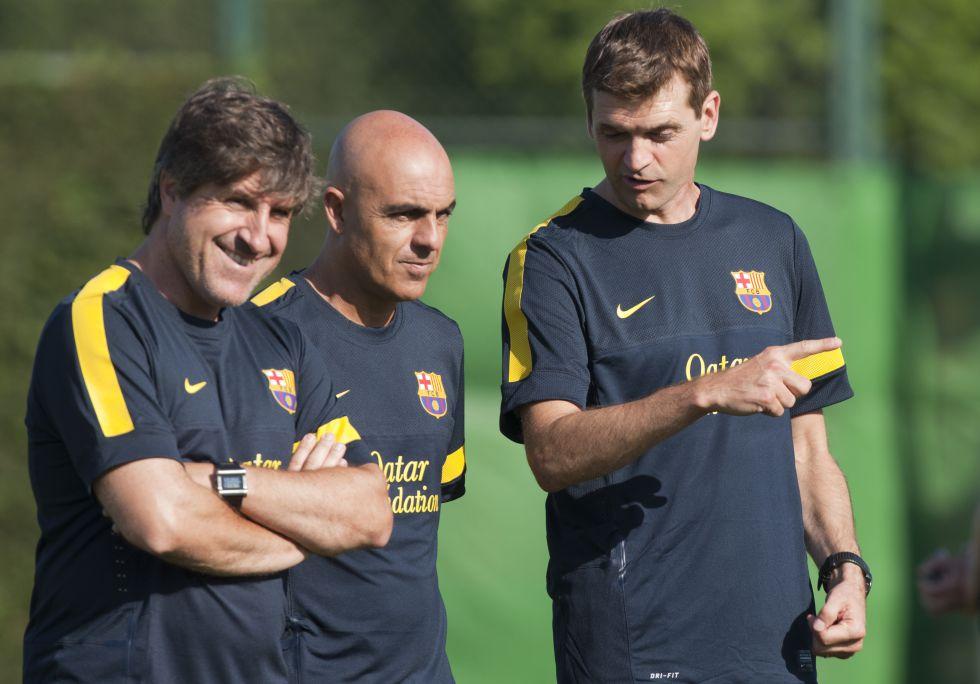 Jordi Roura dirigirá al equipo el sábado en Valladolid