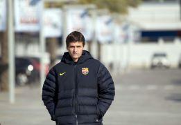 Tito está en Sant Joan Despí pero no dirige el entrenamiento