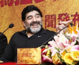Maradona está a un paso de ser el nuevo seleccionador de Irak