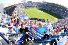 La Rosaleda reventará con la visita del Real Madrid